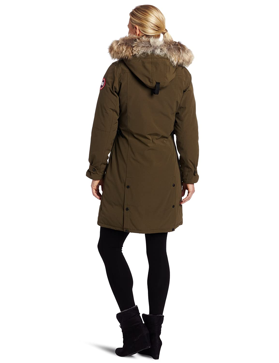 ea2221721656 Amazon.com  Canada Goose Women s Kensington Parka Coat  Clothing