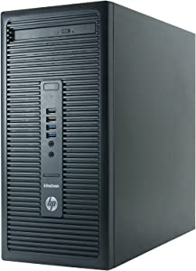 HP EliteDesk 705 G1-T, AMD A4-7300B 3.8GHz, 8GB RAM, 500GB Hard Drive, DVD, Windows 10 Pro 64bit, Certified Refurbished