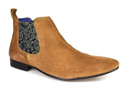 Silver StreetCarnaby - Botines Chelsea Hombre, Color Marrón, Talla 47: Amazon.es: Zapatos y complementos