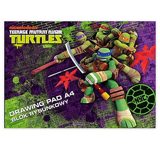 Libro de dibujos Teenage Mutant Ninja Turtles conjunto de 2 ...