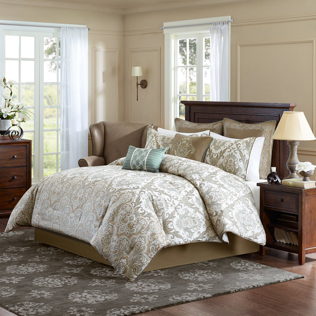 save overfilled sets looks bedding and emboss khaki in comforter set dsc striped solid reversible oversized