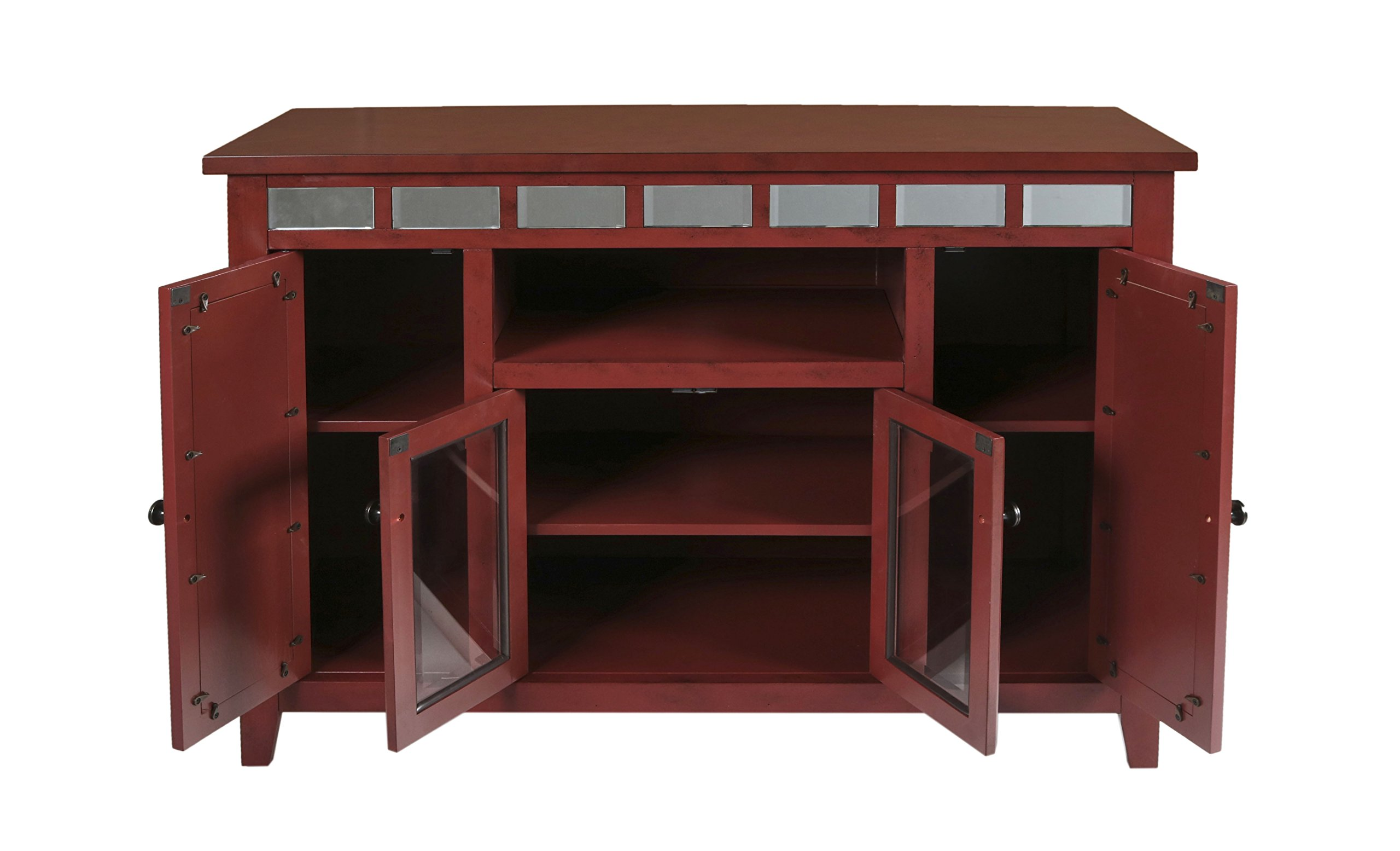 New Classic Gable 48'' Red End Unit by New Classic Furniture