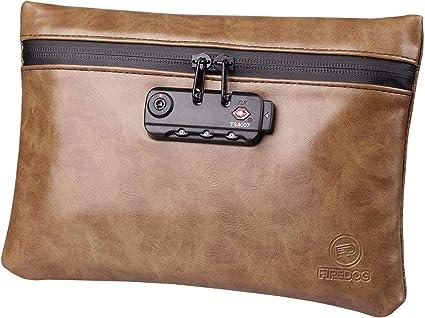 Bolsa a Prueba de olores,Smell Proof Bag con Cerradura,Bolsa de Almacenamiento de Viaje,Odour Resistant Bag para Weed
