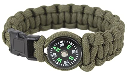 Image Unavailable. Image not available for. Color  Rothco Paracord Compass  Bracelet ... 28da85db34c