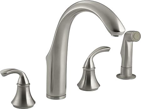 KOHLER 10445-BN Forté(R) 4-Hole Sink 7-3/4\