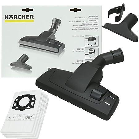 Spares2go Kit de accesorios para cepillo de suelo y 4 bolsas de ...