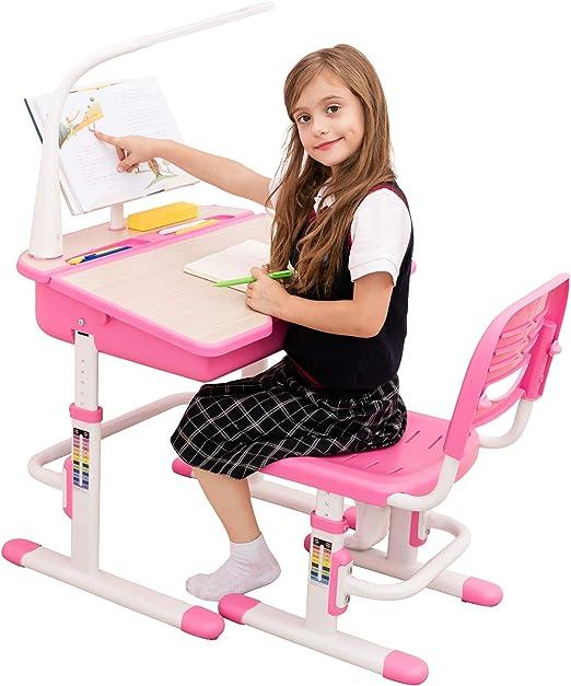 BEST DESK Grows As You Grow Mesa de Estudio para niños Mesa ...