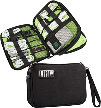 Electronics Accessories Organizer Travel Bag Storage Cable USB Drive Gadget New