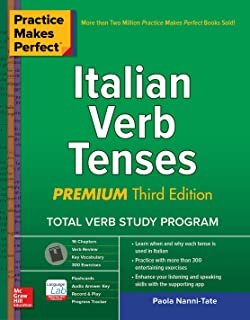 Amazon com: Practice Makes Perfect Italian Verb Tenses, 2nd Edition