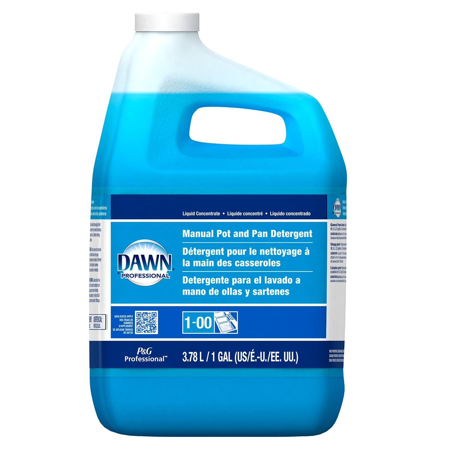 Amazon.com: Dawn Professional Pot and Pan Detergent, Regular Scent, 1 Gallon (Case of 2): Health & Personal Care