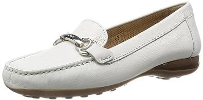 Geox Mocassins, Color Blanc, Marca, Modelo Mocassins D Euro A Blanc ... f960e1342929
