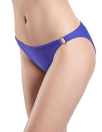1ad7cb955f Aubade NQ20 Women's Croisiere Privee Lagon Blue Swimwear Beachwear Bikini  Bottom 1