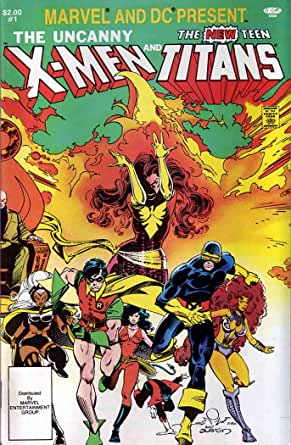 Marvel and DC Present #1 VF ; Marvel comic book