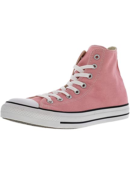f41a86784d74 Converse Chuck Taylor All Star Hi Quartz Pink High-Top Fashion Sneaker -  12M   10M  Converse  Amazon.in  Shoes   Handbags