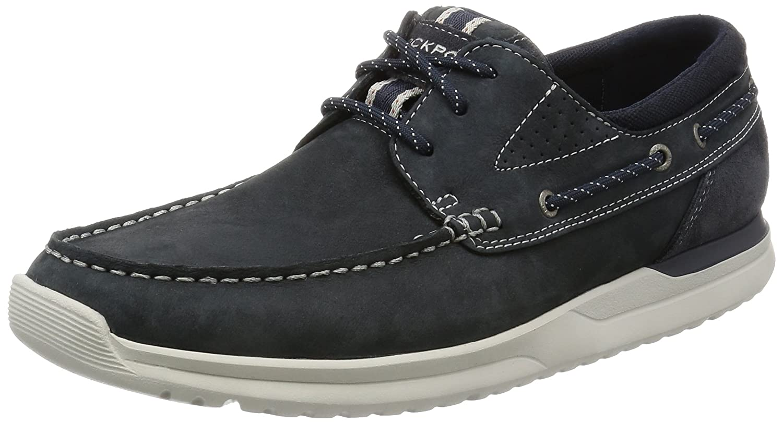 Rockport Langdon 3 Eye Hombre Zapatos Azul 42.5 EU|Azul