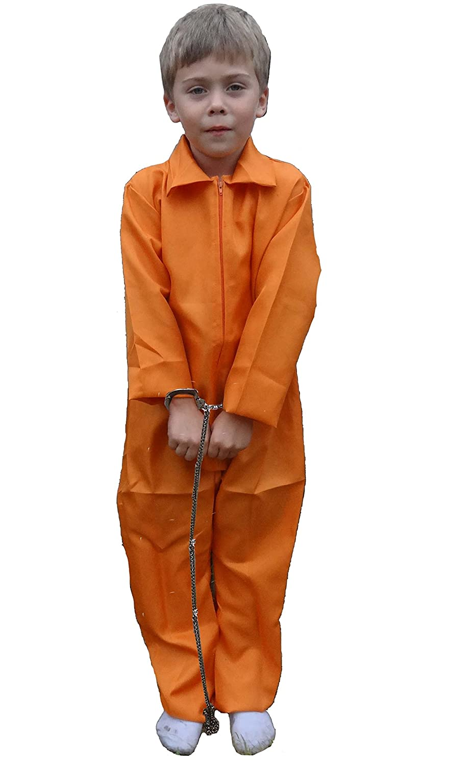 ORANGE PRISONER OVERALLS GUANTANAMO BAY CHILDS FANCY DRESS COSTUME AGE 4-6 YEARS Amazon.co.uk Toys u0026 Games  sc 1 st  Amazon UK & ORANGE PRISONER OVERALLS GUANTANAMO BAY CHILDS FANCY DRESS COSTUME ...
