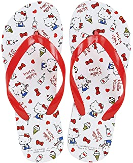 0ae71f598 New Hello Kitty Summer 2016 Red and White Sweet Collection Girl Flip Flops