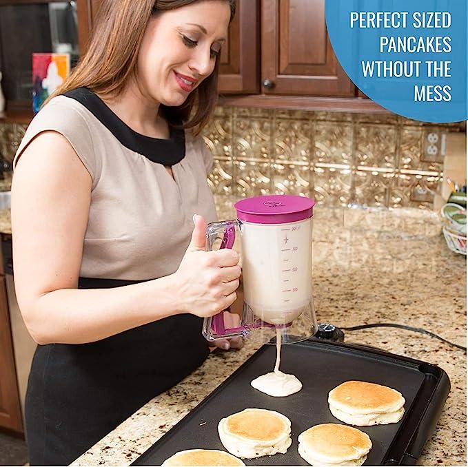 Cake Batter Machine Batter Dispenser Pancake Muffin Baking Kitchen O1D2 F0W0