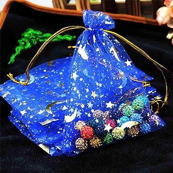 Amazon.com: XINdream - 100 bolsas de regalo de malla de ...
