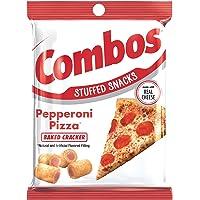 COMBOS Pepperoni Pizza Cracker Baked Snacks 6.3-Ounce Bag