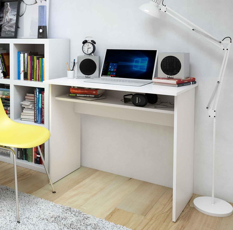 MEKA-BLOCK K-9465B - Mesa de escritorio, 90 cm de ancho, color ...