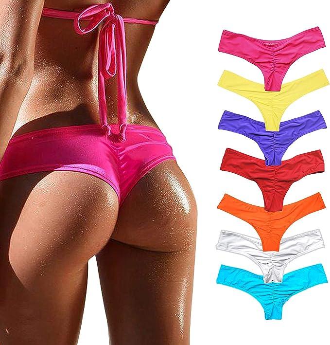 Amazon.com: Yofit - Tanga de bikini para mujer: Clothing