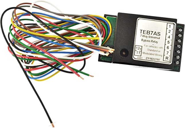 Amazon.com: AB Tools Towbar Electrics 7 Way Bypass Relay for Canbus  Multiplex Wiring Smart TR186: AutomotiveAmazon.com