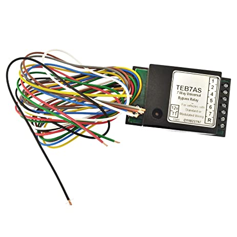 Bypass relay wiring electrical work wiring diagram amazon com towbar electrics 7 way bypass relay for canbus multiplex rh amazon com teb7as bypass relay wiring teb7as bypass relay wiring cheapraybanclubmaster Images