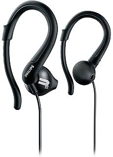 Philips ActionFit Sports Hooks Headphone - Black (SHQ1250TBK/27)