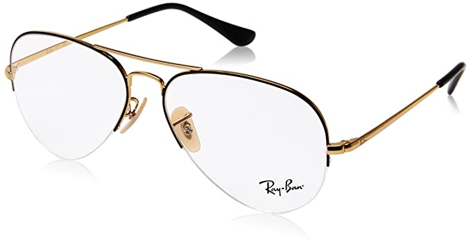 718bc49355 Image Unavailable. Image not available for. Color  Ray-Ban Unisex RX6589  Eyeglasses ...