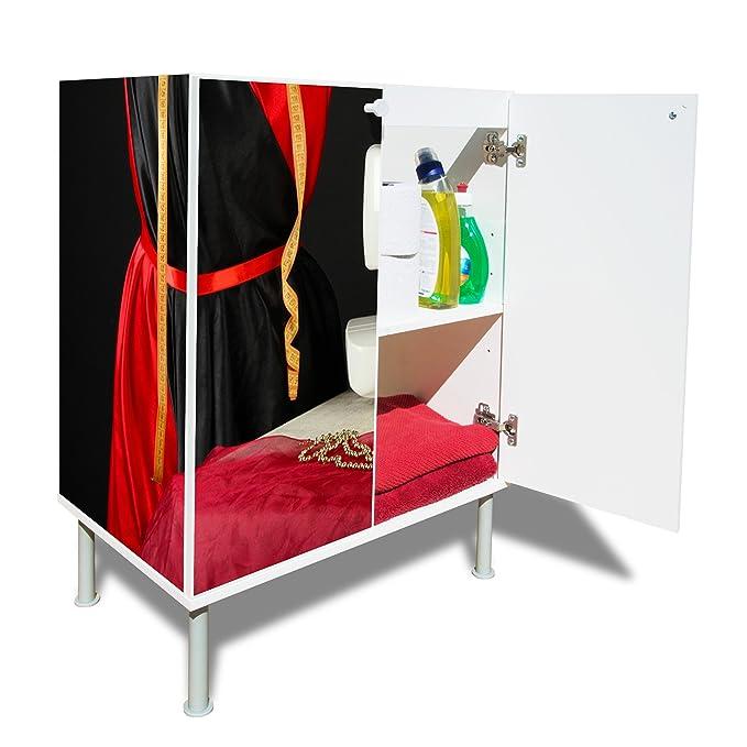 NUEVO Moderno Armario para lavabo con diseño: con diseño: Máquina de coser: Amazon.es: Hogar