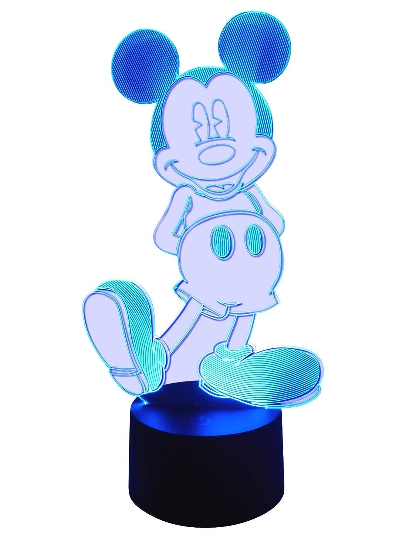 originelle 3d lámpara LED Mickey Mouse – Lámpara de mesa lámpara infantil Wohnlicht