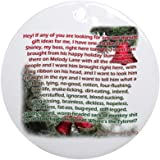 CafePress - Clark Griswold Rants, Christmas Vacation Ornament - Round Holiday Christmas Ornament