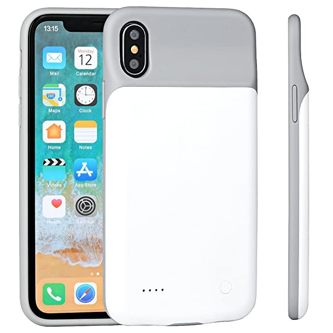 a0b2ffd7e Image Unavailable. Image not available for. Color: iPhone X/XS Battery  Charger Case ...
