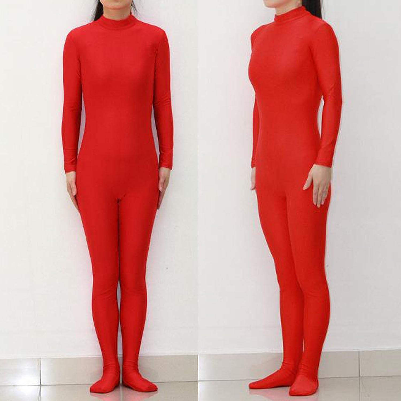Stück Kunststoff rot Spandex Ganzkörperanzug/Kleidung/halb ein Pack Strumpfhosen/Tanzkostüme