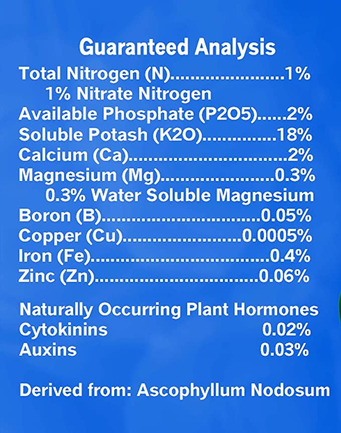 Amazon.com: Blue Planet Nutrients Easy Weed algas solubles ...