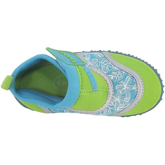 Fashy Arona 7494 Kleinkinder Aqua-Schuhe, grün/azur, Gr. 27 EU / 9.5 UK Y