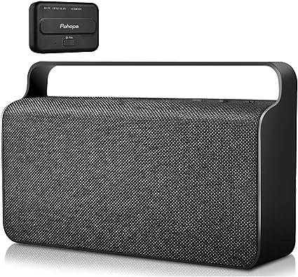 Wireless TV Speaker - Pohopa Portable New TV Soundbox, TV Audio Hearing  Assistance with Transmitter 8W Speaker for Smart TV, Hard of Hearing  Seniors