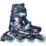 SPOKEY® SPLASH Patins de Roues Alignées | Enfants | Femmes | Inline Skates | Tailles reglable 31-34, 35-38