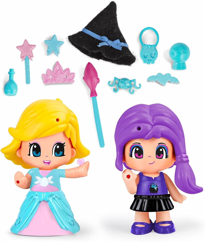 Pinypon - Princesa Y Bruja, Incluye 2 Figuras y Accesorios, para niños y niñas a Partir de 4 años (Famosa 700014080): Amazon.es: Juguetes y juegos