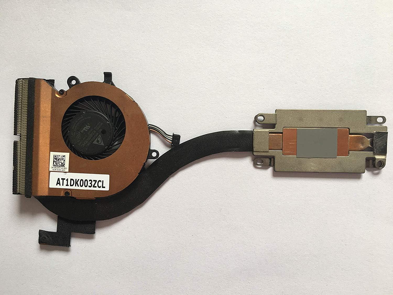 Z-one Fan Heatsink Replacement for Dell Latitude E7270 Series CPU Cooling Fan Heatsink DP/N R37F7 0R37F7 4-Wires