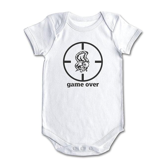 Amazon.com: shuocdah Game Over ardilla caza bebé niños niñas ...