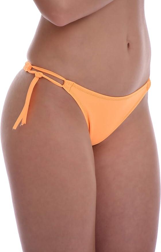 Made in EU Lady Swimwear 105 TIARA GALIANO Womens Bikini Bottom Low Boyshorts