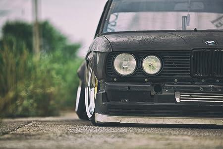 BMW Serie 5 E28 coche antiguo cartel de 36 x 60,96 cm ...