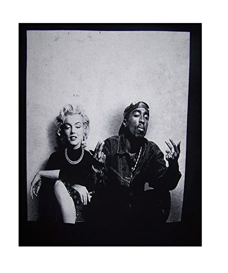 d3bdee1c915e9 Amazon.com: Marilyn Monroe & Tupac Shakur Urban Wear Cotton T-Shirts ...