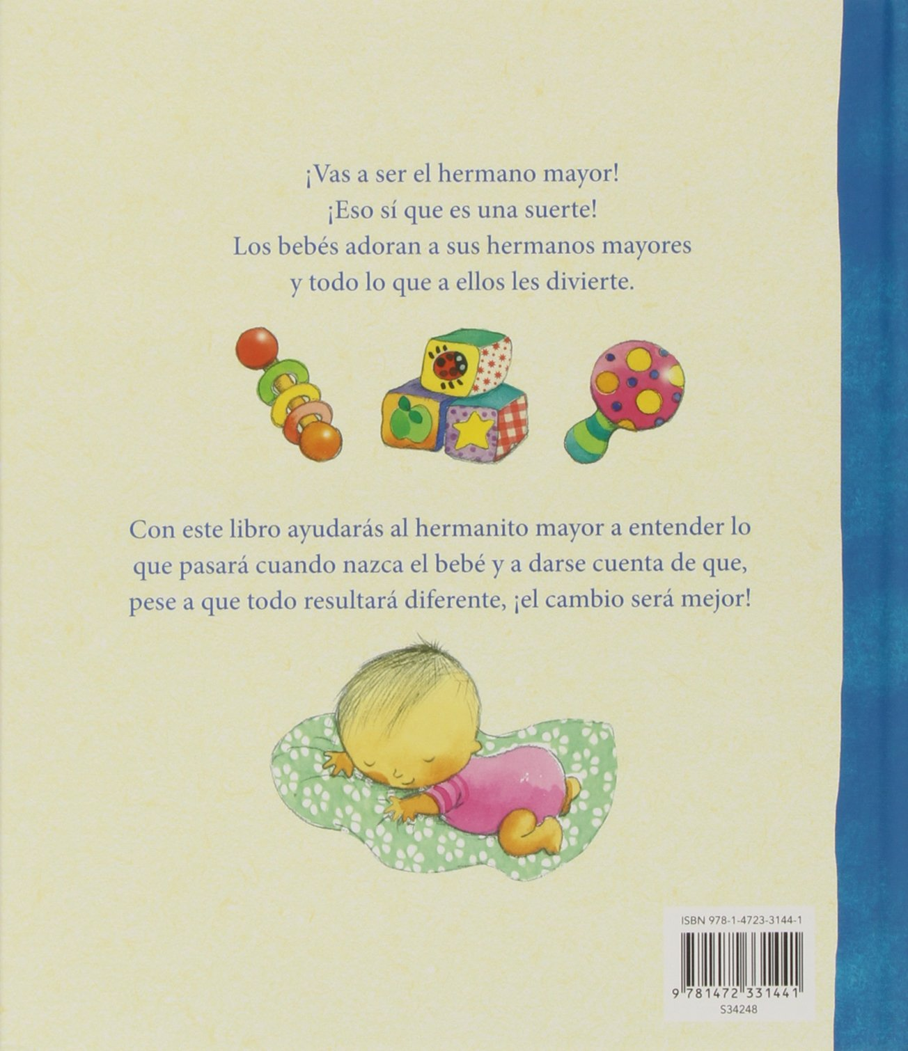 ¡Vas a ser el hermano mayor! (Brother/Sister PIC) (Spanish Edition): Parragon Books: 9781472331441: Amazon.com: Books