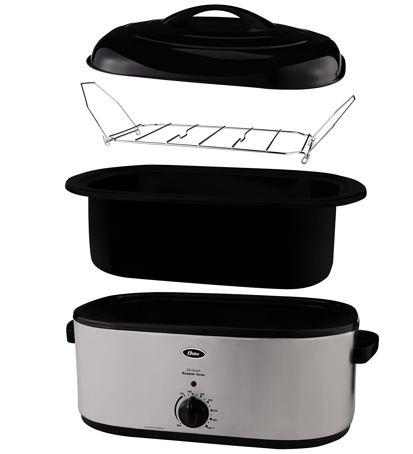 Superior Amazon.com: Oster CKSTRS23 22 Quart Roaster Oven, Stainless Steel: Electric  Roasters: Kitchen U0026 Dining