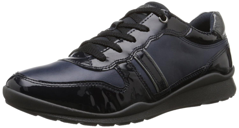 Ecco Ecco Mobile III - Zapatos con Cordones de Cuero Mujer 40-41 B(M) EU|azul marino