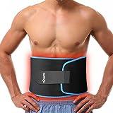 NURSAL シェイプアップベルト ダイエットベルト 超発汗 脂肪燃焼 サウナベルト 運動減量用 男女兼用 調節可 腰サポーター ウィスト80~120cm対応