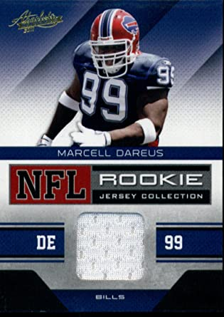 Amazon.com: 2011 Absolute NFL Rookie Jersey Collection #24 Marcell ...